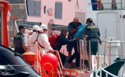 خفر السواحل الاسباني أنقذ 380 مهاجرا سريا مغربيا