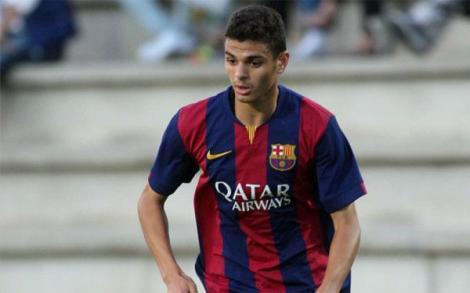 الريفي محمد الورياشي لاعب برشلونة يَختار القميص المغربي