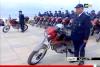 أبوظبي تهدي جهاز الشرطة سيارات و دراجات نارية