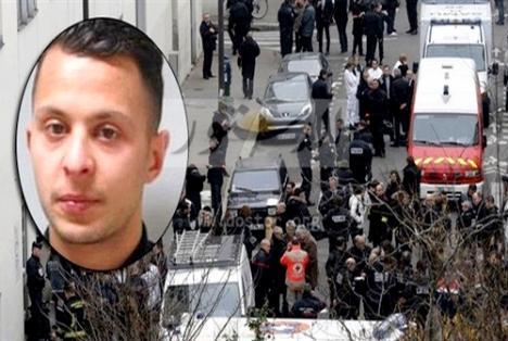 اعتقال مخطط هجمات باريس صلاح عبد السلام بعد إصابته في ساقه
