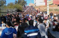 الحسيمة.. مسيرة احتجاجية بتماسينت بمشاركة عائلات معتقلي الحراك