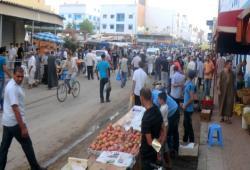 الفوضى تعم شوارع مدينة امزورن وسط صمت المجلس البلدي