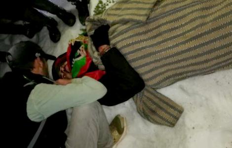 إنقاذ الشابين العالقين في جبل تدغين نواحي اقليم الحسيمة